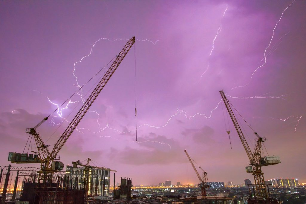 construction lightning risk facts