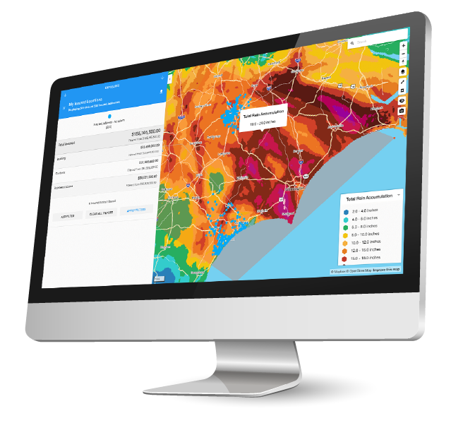 Dexter weather forensics software for insurance claims