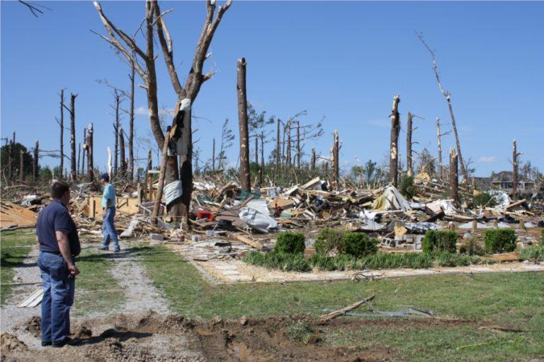 EF4 tornado damage Anderson Hills
