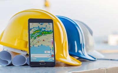 Lightning alerts & radar updates live in GaugeConstruction mobile