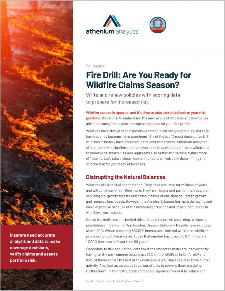 Whitepaper - wildfire risk scoring for insurance
