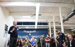 bill speaking at Athenium merger