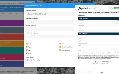Flash flood peril and enhanced Dexter reports highlight September new releases