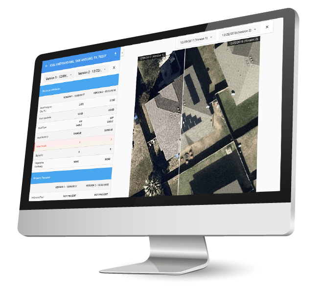 IRIS aerial imagery analytics