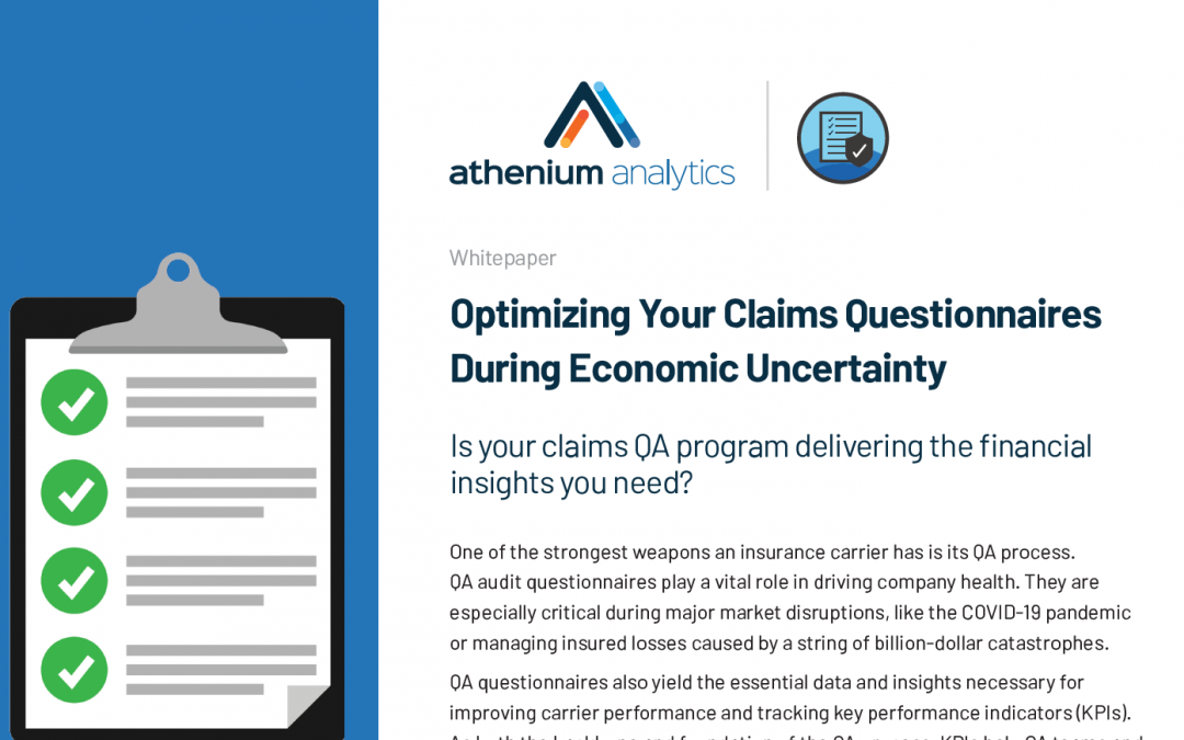 [Whitepaper] Optimizing your claims questionnaires during economic uncertainty