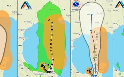 Asymmetry in hurricane forecasts: Why you need more than the cone of uncertainty