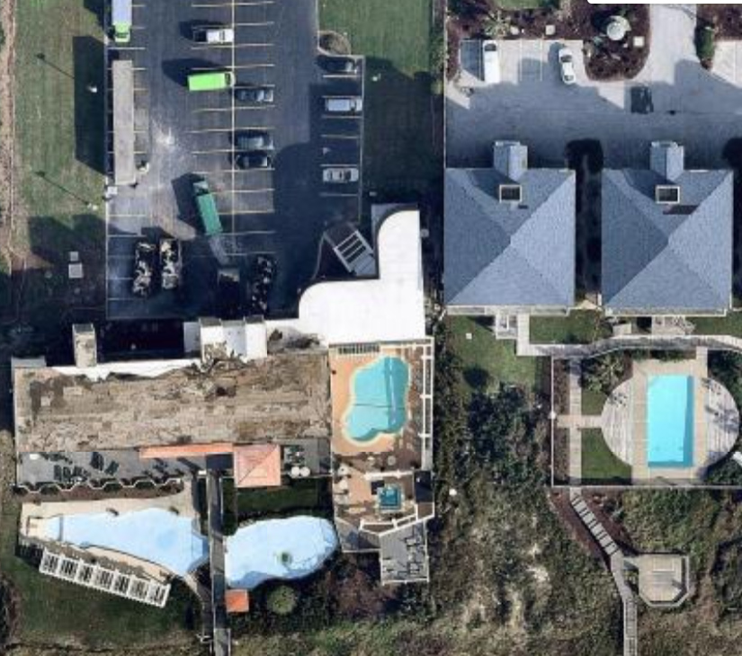 Hurricane Florence IRIS aerial imagery - after
