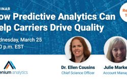 Webinar - how predictive analytics can drive insurance quality