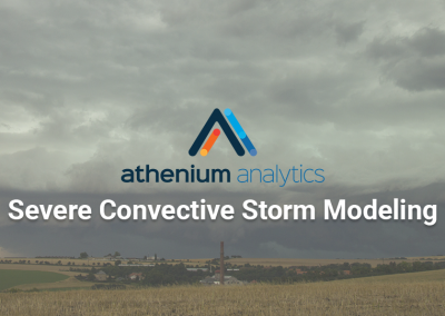 Athenium Analytics & Aon collaborate to enhance severe convective storm modeling for insurance