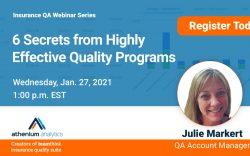 Insurtech webinar: 6 secrets from highly effective insurance audit programs