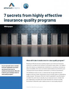 7 secrets insurance quality whitepaper