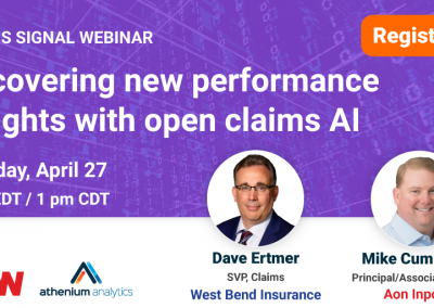 Webinar: Uncovering new performance insights with open claims AI