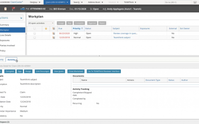 Extending teamthink compatibility to Guidewire ClaimCenter v9