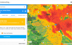 Superior Arizona wildfire risk score map | Athenium Analytics
