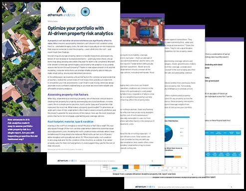 Property risk analytics whitepaper